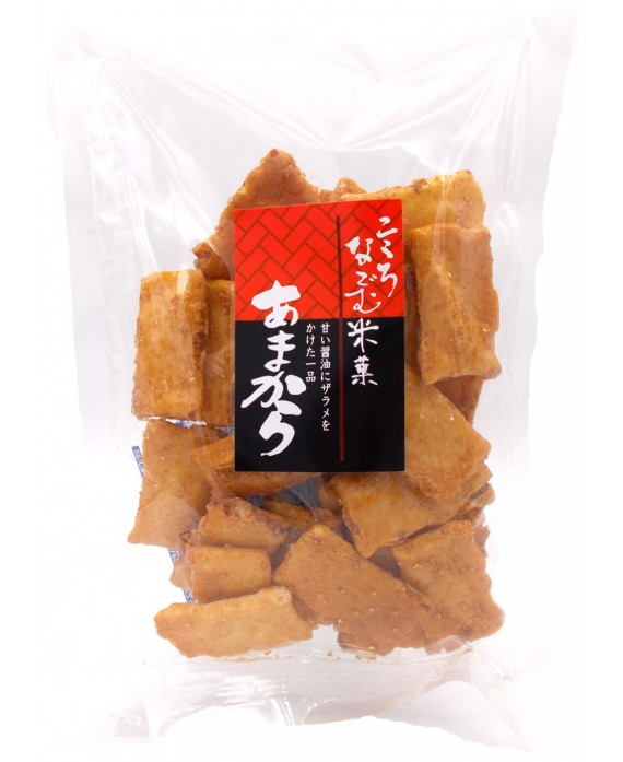 Sembei rice crackers - soy...