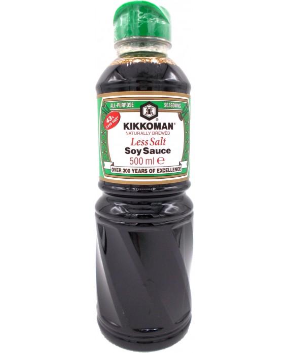 キッコーマン 減塩しょうゆ - 500ml