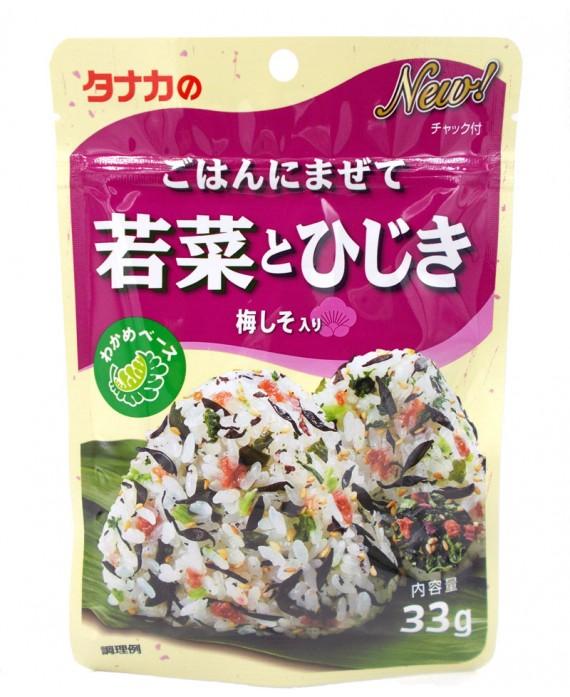 タナカ ごはんにまぜて 若菜とひじき - 33g