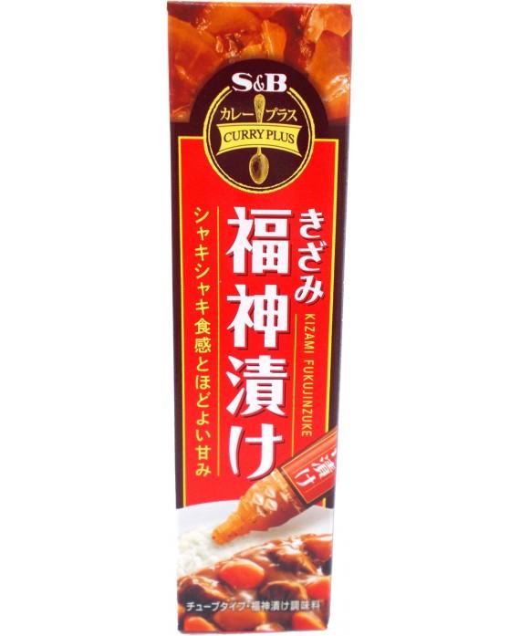 Fukujinzuke râpé en tube