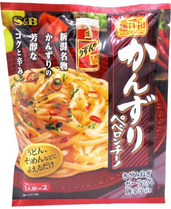 S&B 麺日和 かんずりペペロンチーノ - 42.2g