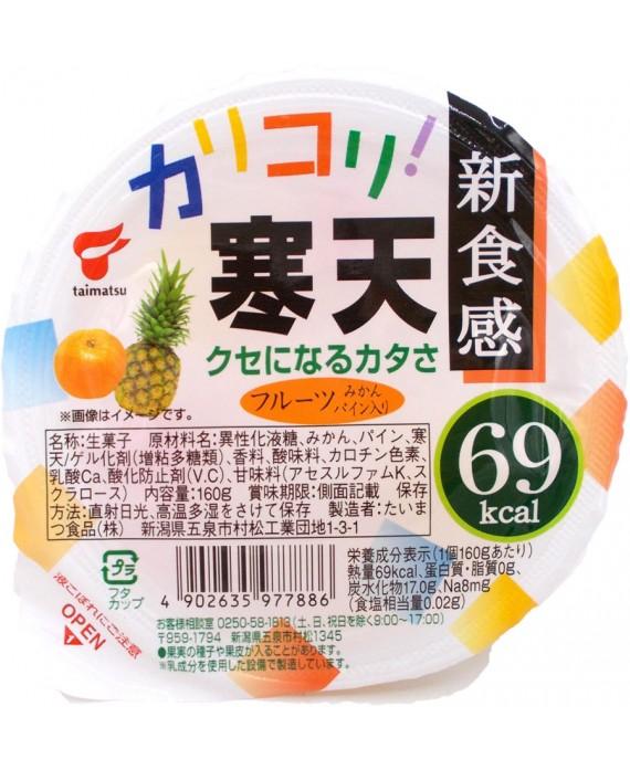 たいまつ食品 カリコリ寒天フルーツ - 160g