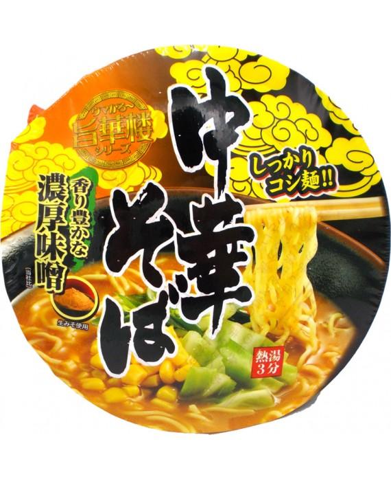 山本製粉 カップ旨華楼 中華そば 濃厚味噌 - 105g