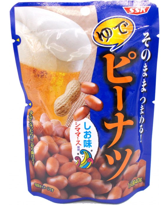 Boiled and salty peanuts - 40g