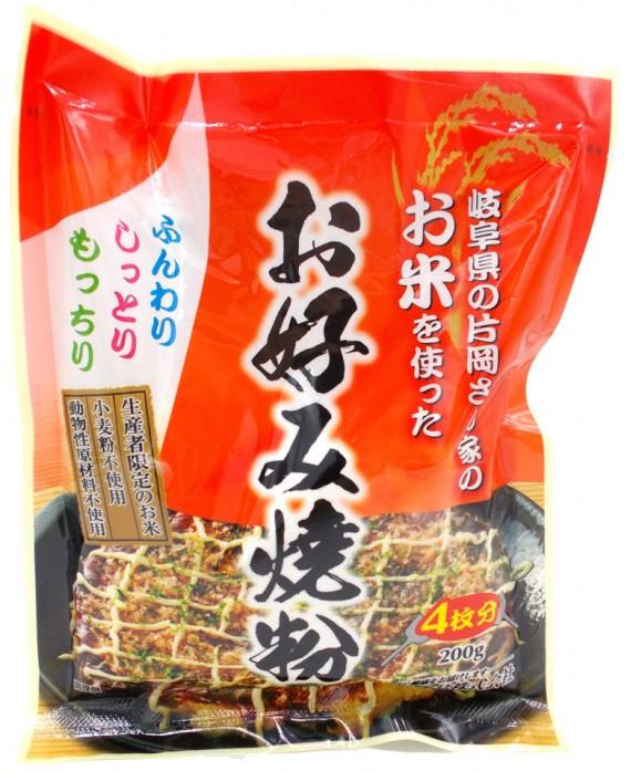 桜井食品 お米を使ったお好み焼粉 - 200g