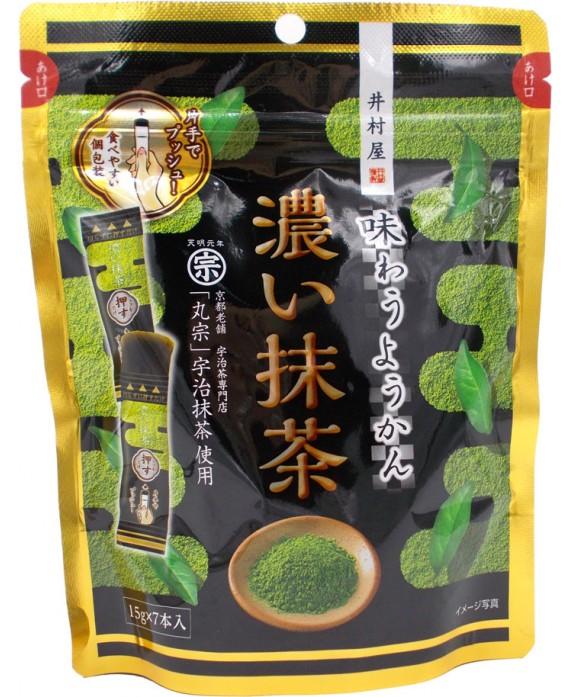 井村屋 味わうようかん 濃い抹茶 - 105g...
