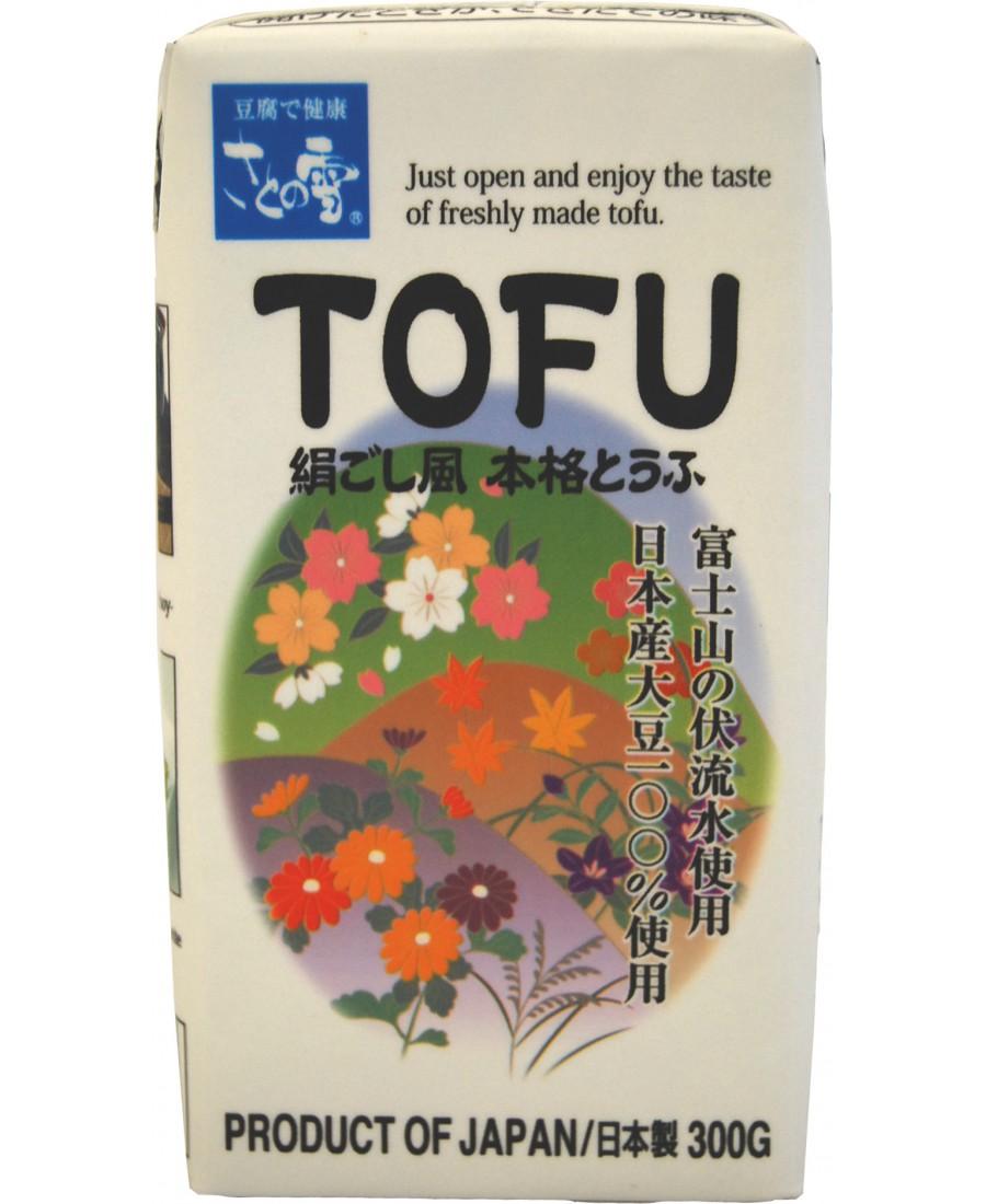 Tofu soyeux Satonoyuki