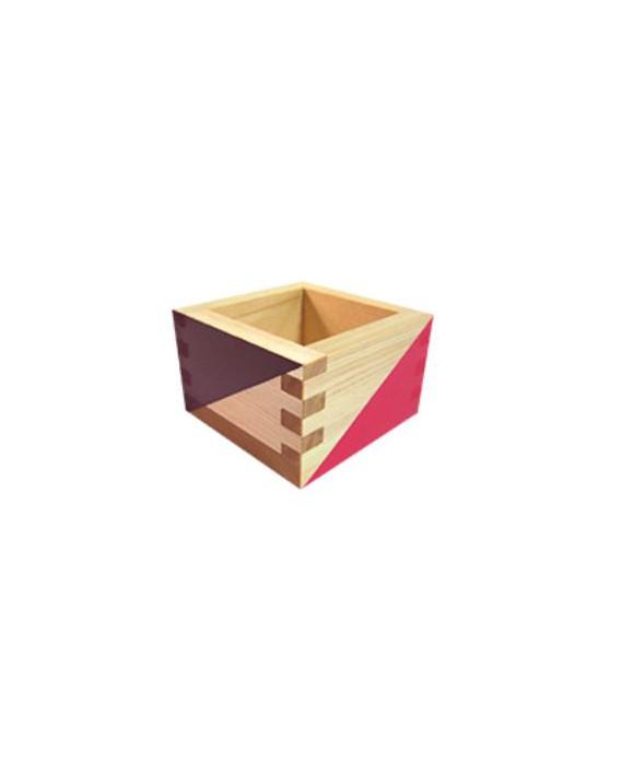 GIMAPOP -デザイン枡 - PINK & PURPLE