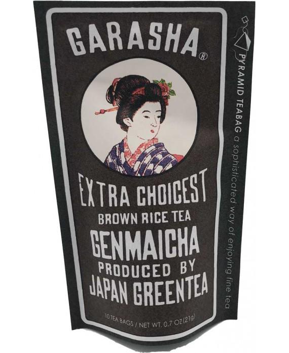 "Thé vert au riz soufflé Garasha genmaicha"""