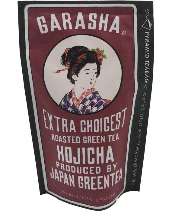 "Thé vert torréfié Garasha hojicha"""
