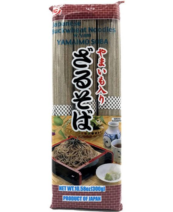 Soba noodles of buckwheat...