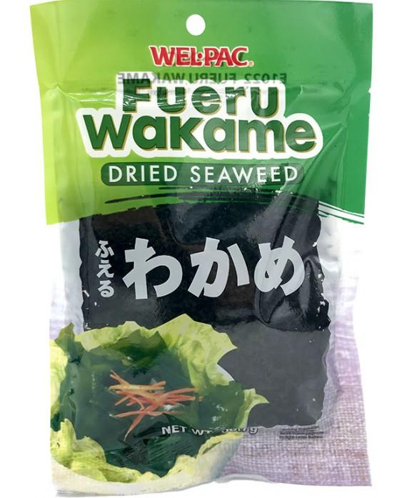 Algues wakame déshydratées