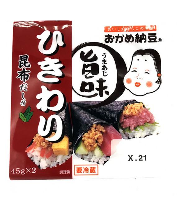 タカノフーズ おかめ納豆 旨味 ひきわり - 90g...