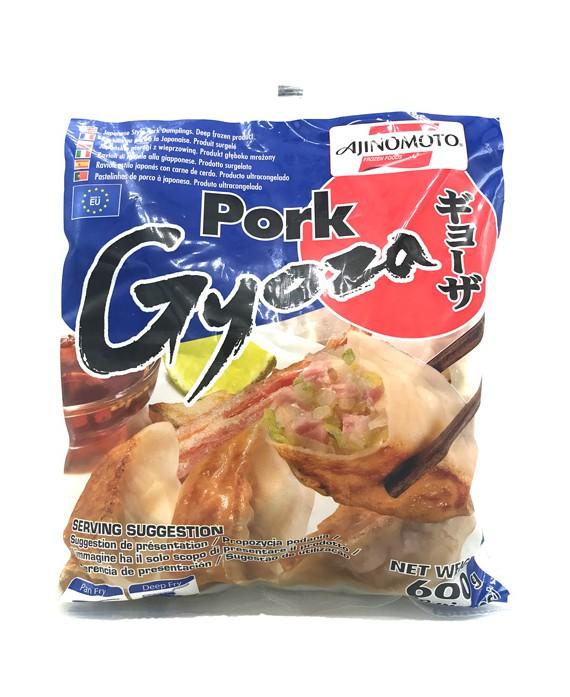 Ravioles japonaises gyoza porc