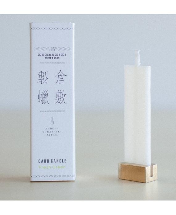 Bougie carte - parfum floral