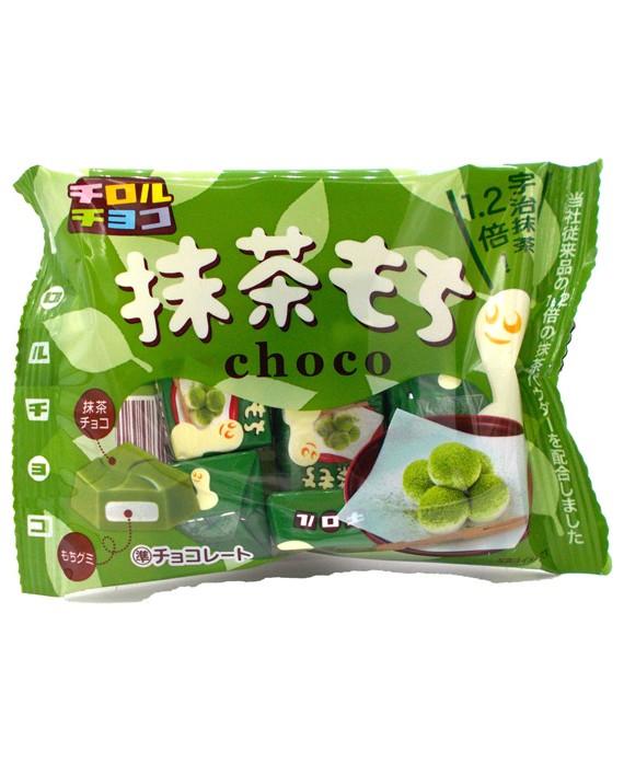 Matcha mochi chocolates