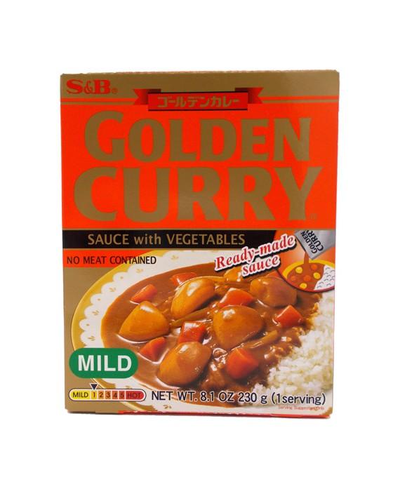 Instant curry S&B - Mild