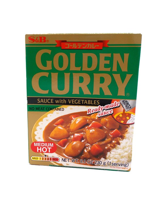 Instant curry S&B - Medium hot