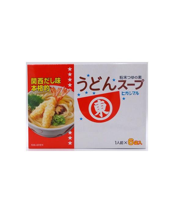 Udon noodles soup stock