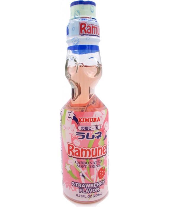 Soda Ramune à la fraise