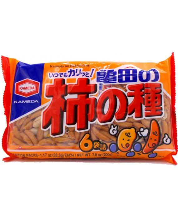 亀田製菓 亀田の柿の種6袋詰 - 200g