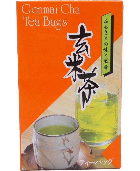 Organic green tea genmaicha