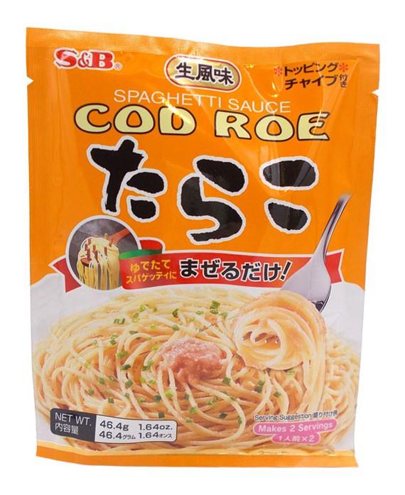 Cod roe pasta sauce