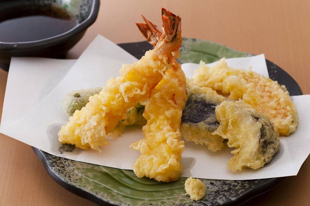 Recette des tempura