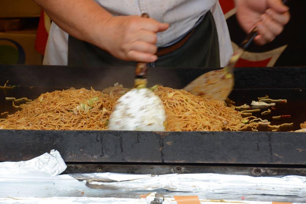 Recette des nouilles yakisoba